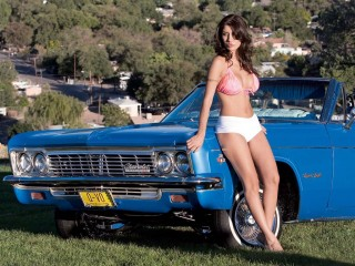 Girl And Car  74