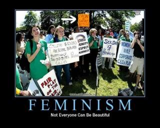demotivational posters feminism