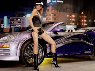 Girl And Car  6
