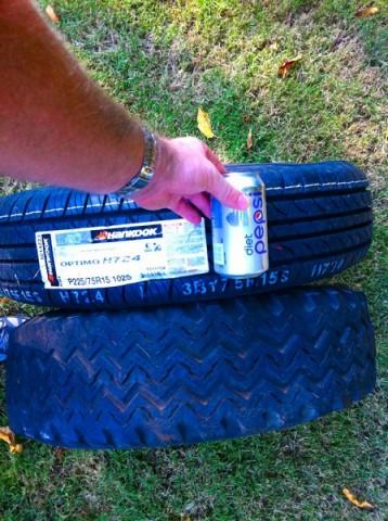 Tire comparison 2