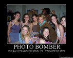 photo bomber   thriller zombie