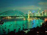 Sydney Harbor at Dusk  Australia
