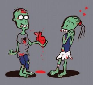 zombie love 600x550