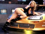 Girl And Car  129