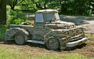 Stone truck finished crop