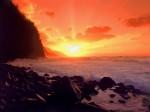 NaPali Sunset  Kauai  Hawaii