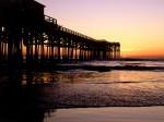 Crystal Pier  San Diego  California