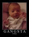 normal gangsta baby