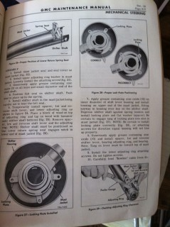 GMC Steering Column Repair 1