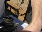 carb repair stromberg ww cotter key bending