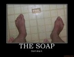 the soap