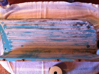 sanding step 1