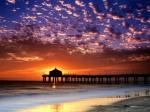 Colorful Sky  Manhattan Beach  California
