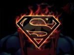 Superman On Fire