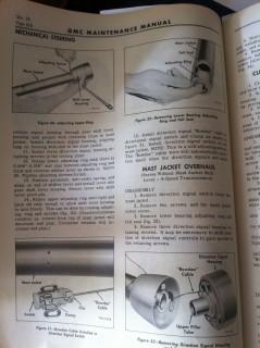 GMC Steering Column Repair 2