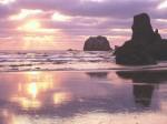 Sunset Light  Bandon  Oregon