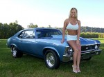 Girl And Car  155