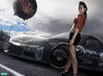 Girl And Car  151