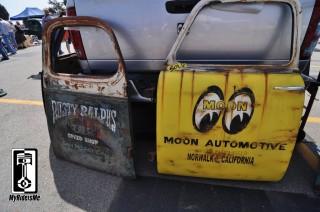 hot rod art custom painted doors 2