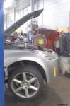 Coolant bucket At work