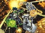 Green Lantern and Silver Surfer
