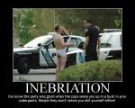 inebriation