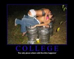 demotivational posters college