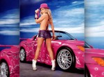 Girl And Car  157