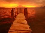 Volcano Sunset  Guatemala